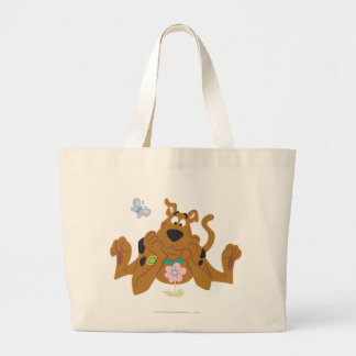 New Scooby Doo Review Pose 40 Large Tote Bag