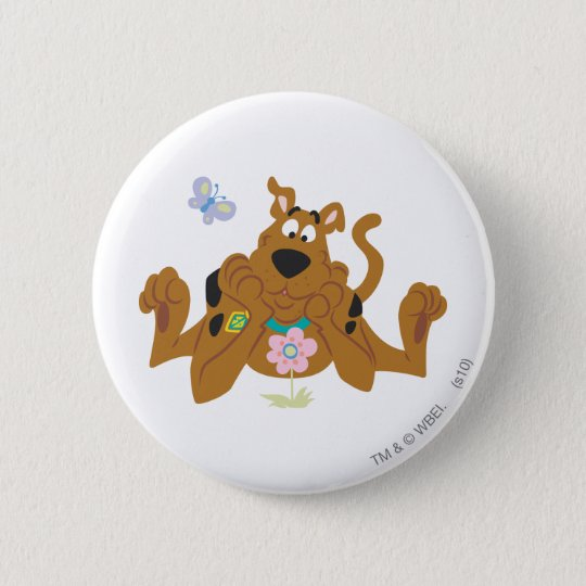 New Scooby Doo Review Pose 40 Pinback Button