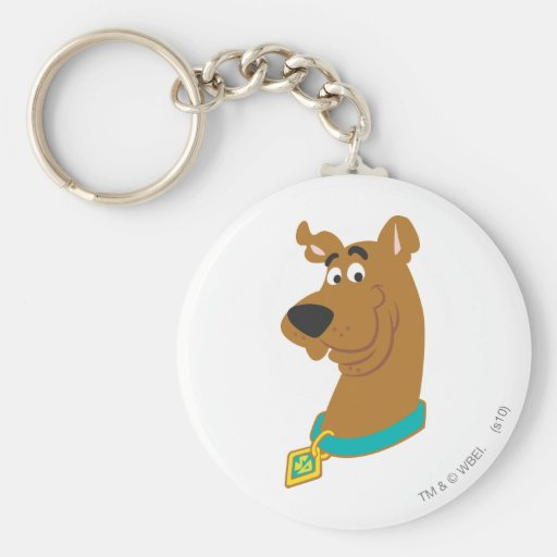 New Scooby Doo Review Pose 8 Basic Round Button Keychain