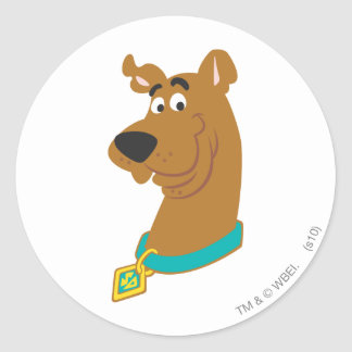 New Scooby Doo Review Pose 8 Round Sticker
