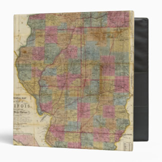 New sectional map of the state of Illinois 2 Binder