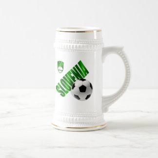 New Slovenia glossy green emblem soccer gifts Mug