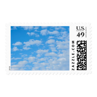 New Smyrna Beach, cumulus clouds Postage Stamps