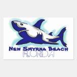 New Smyrna Beach Florida blue shark stickers