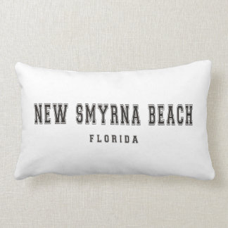 New Smyrna Beach Florida Lumbar Pillow