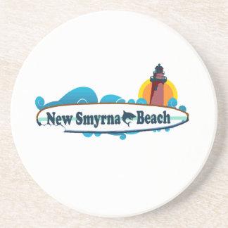 New Smyrna Beach. Sandstone Coaster