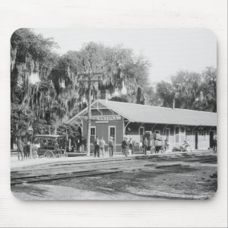 New Smyrna, Florida Railway Station, 1904 Mouse Pad