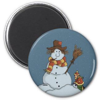 new snowman magnet