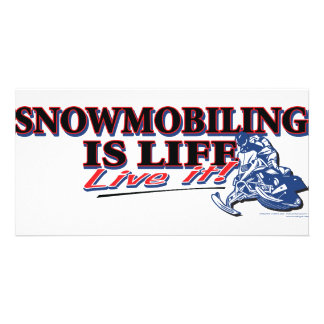 NEW-SNOWMOBILING-IS-LIFE CARD