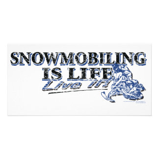 NEW-SNOWMOBILING-IS-LIFE-DIS CARD