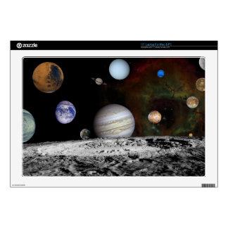 "New Solar System 17"" Laptop Skins"