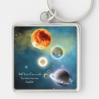 New solar system Keychain