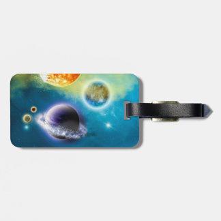 New Solar System Luggage Tag