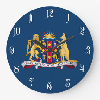 New South Wales coat of arms Wall Clock