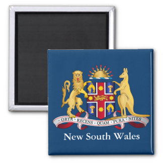New South Wales coat of arms Magnet