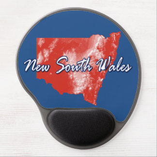 New South Wales Gel Mouse Pad