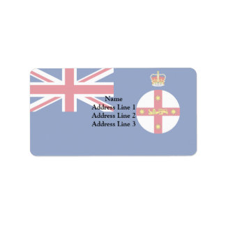 New South Wales Governors, Australia Address Label