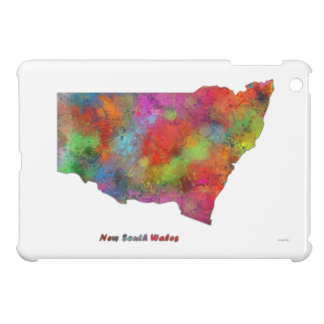 NEW SOUTH WALES MAP CASE FOR THE iPad MINI