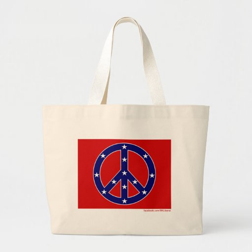 New Southern Peace Flag Bags