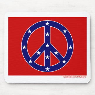New Southern Peace Flag Mouse Pad