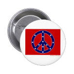 New Southern Peace Flag Pinback Button