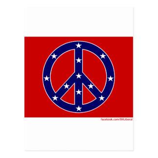 New Southern Peace Flag Postcard
