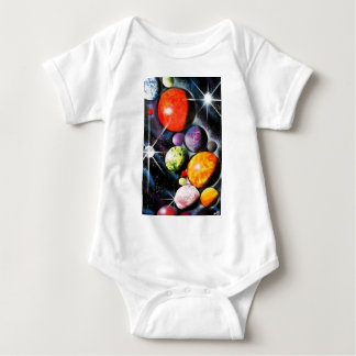 New Space Age Baby Bodysuit