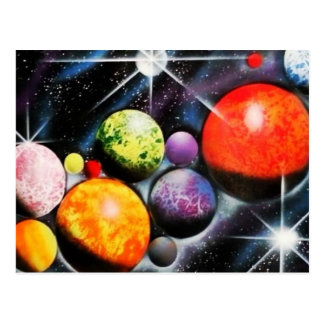 New Space Age Postcard