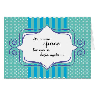 New Space Congratulations Stationery Note Card
