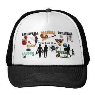 New Sports Collage Trucker Hat