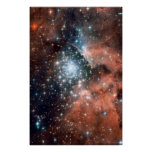 New Stars in NGC 3603 20x30 (20x30) Poster