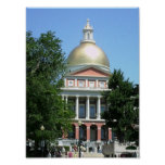 New State House ~ Boston Poster