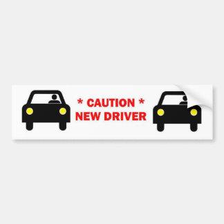 New Student Driver Bumper Sticker