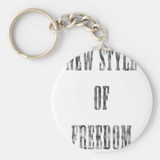 New Style Of Freedom pearl bubble Keychain