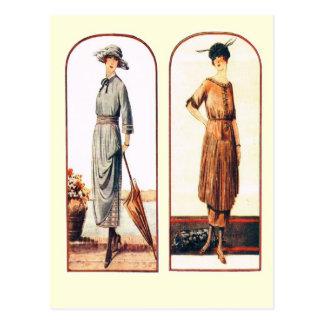 New styles for elegant ladies postcard