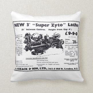 New Super Zyto Lathe Avert 1930's Pillow
