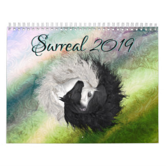 New Surreal 2019 Horse Art Calendar