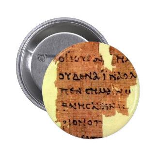 new testament pinback button