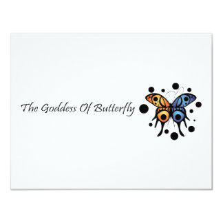 -New- The Goddess Of Butterfly Invite
