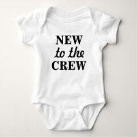 New to the Crew Baby Bodysuit