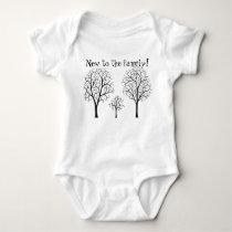 New to the Family Tree Baby Bodysuit