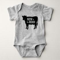 New to the Herd Baby Bodysuit