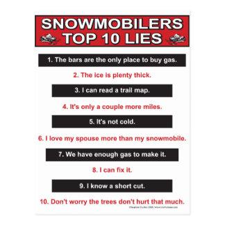 New-top-10-lies-Large-Red Tarjetas Postales