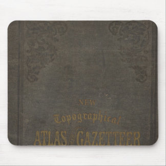 New topographical atlas and gazetteer of Indiana Mouse Pad