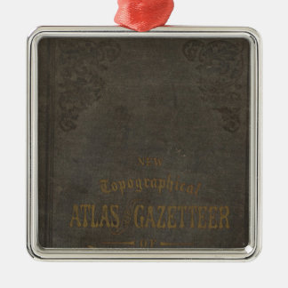 New topographical atlas and gazetteer of Indiana Ornament