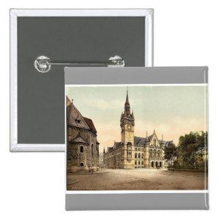 New town hall, Brunswick (i.e., Braunschweig), Ger Pin