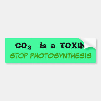 New Toxin Bumper Sticker