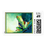 NEW TREE FROGS STAMP
