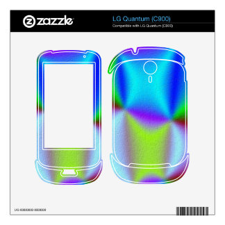 New trendy colorful pattern decal for the LG quantum