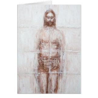 New Turin Shroud (Contemporary Realism Jesus) Card